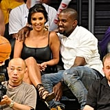 Kim Kardashian and Kanye West Cute Couple Pictures