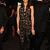 Kristen Wiig sported a Stella McCartney lace jumpsuit to the Time 100 gala in NYC.