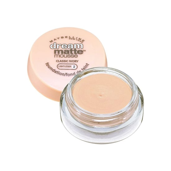 Perfect for Summer, Maybelline Dream Matte Mousse Foundation ($9) is a lightweight formula that leaves you with a shine-free finish.