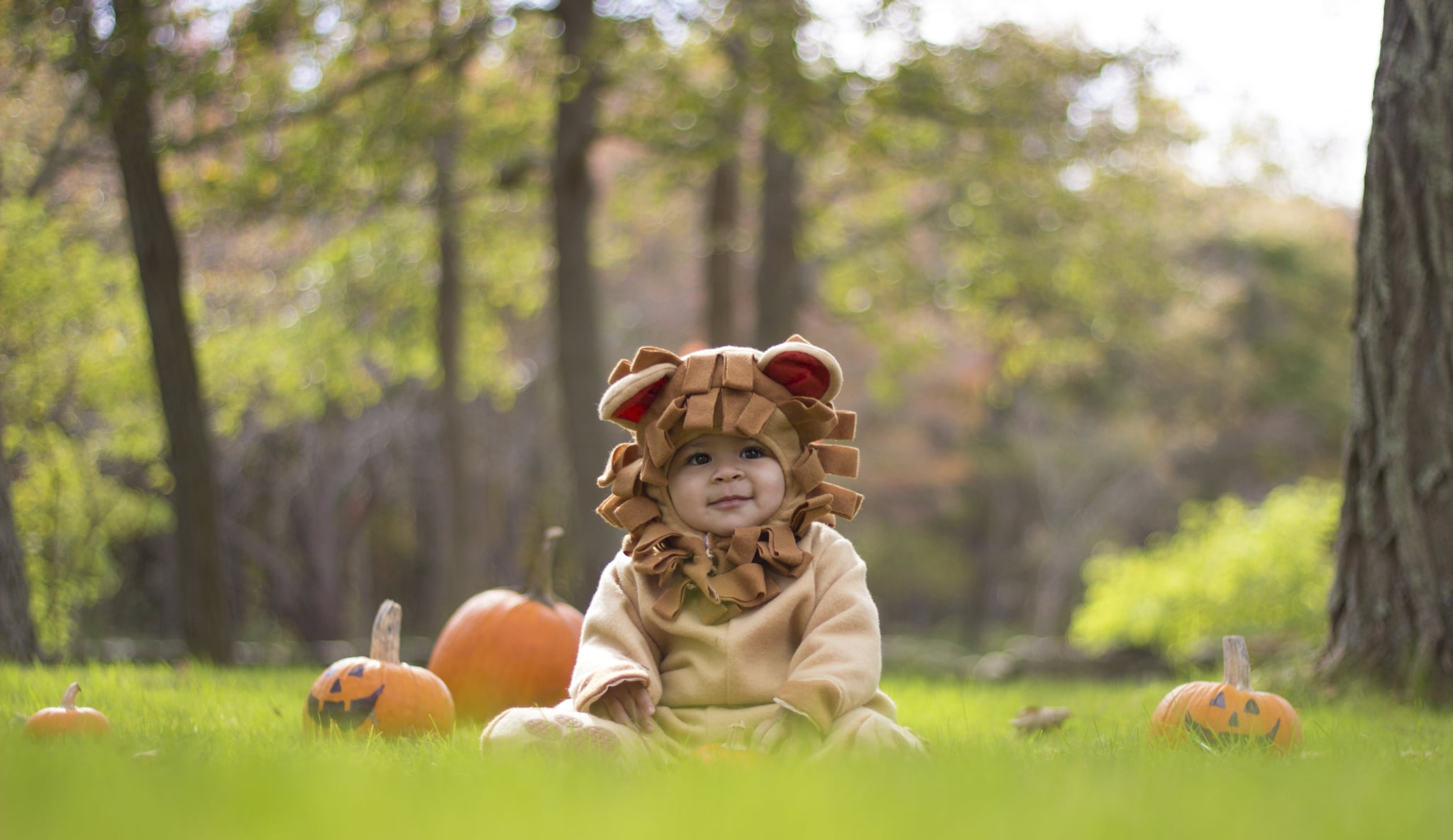 Taking A Baby Trick Or Treating Popsugar Family