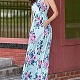Dunea Maxi Dress Floral Printed Dress