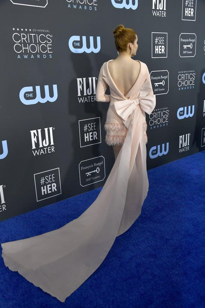 Kennedy McMann at the 2020 Critics' Choice Awards