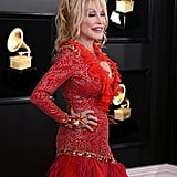 Dolly Parton at the 2019 Grammys