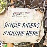 Single-Ride Lines