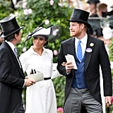 Prince Harry and Meghan Markle at Royal Ascot 2018