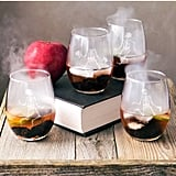 Cathy's Concepts Skeletons Stemless Wine Glasses