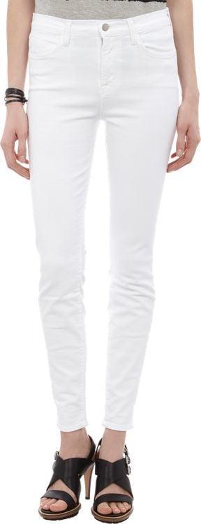 J Brand Skinny Maria Jeans-White ($178)