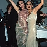 Fran Drescher and Salma Hayek Struck a Pose