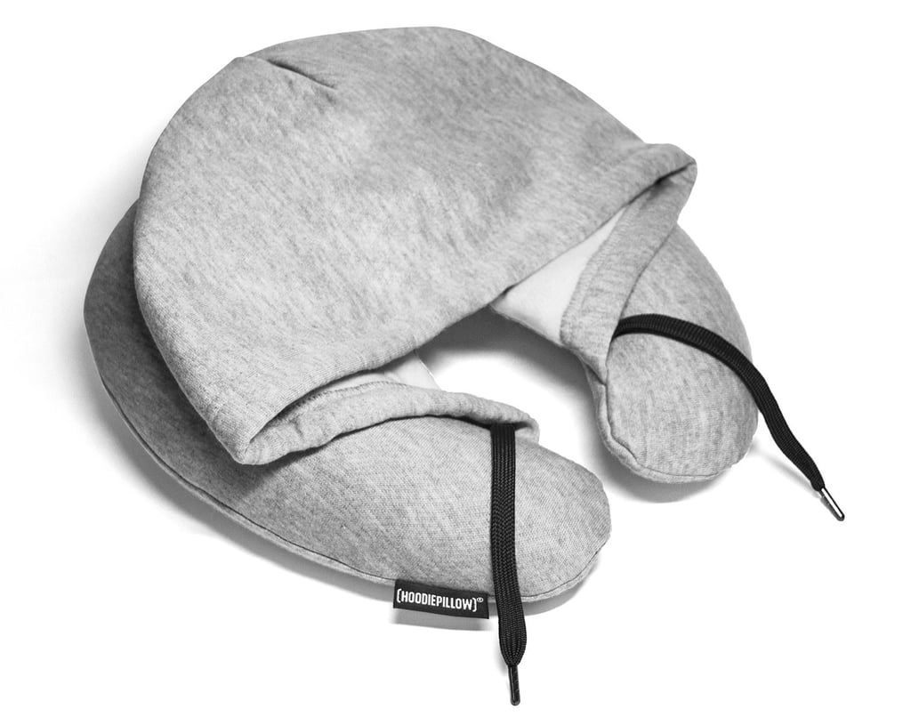 Inflatable Travel Hoodie Pillow