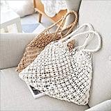 Ma.Lina Tote Fishing Net Woven Bag