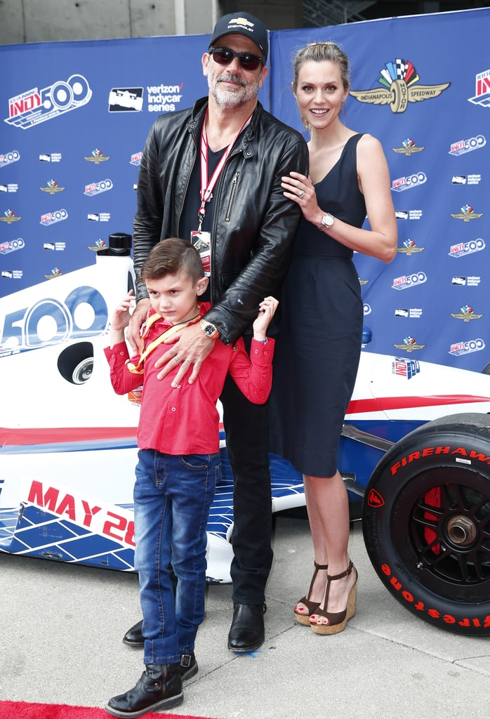 Jeffrey Dean Morgan And Hilarie Burton At The Indy 500