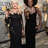 Helen Mirren and Viola Davis were a power duo at the 2018 show.