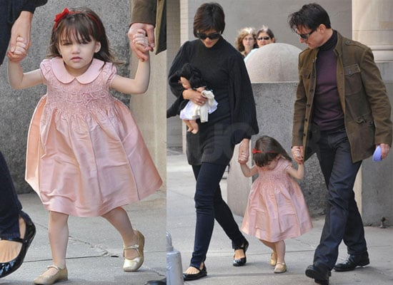 Photos of Tom Cruise, Katie Holmes, Suri Cruise in NYC