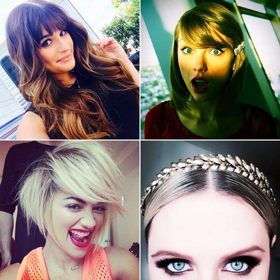 New Hair, New Flair — Stars Offer Fresh Inspiration on Instagram