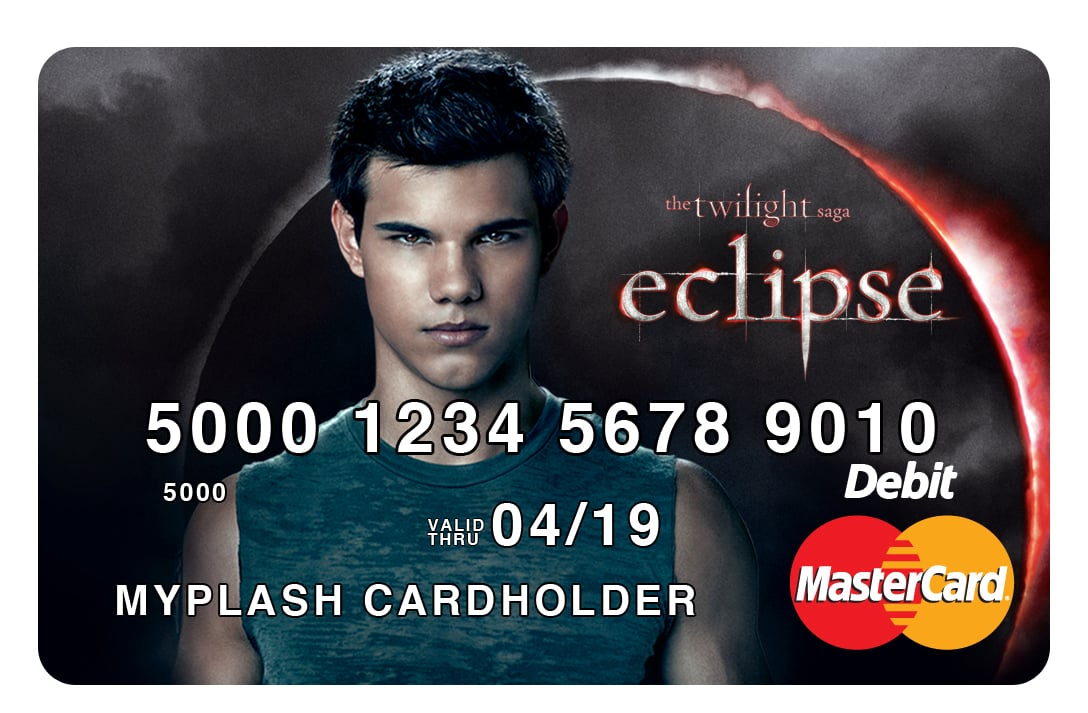 PopsugarLivingRobert PattinsonPrepaid MasterCard With Eclipse CharactersTwilight Saga Prepaid MasterCards: Brilliant or Baffling?June 2, 2010 by Smart Living89 SharesChat with us on Facebook Messenger. Learn what's trending across POPSUGAR.Edward Cullen might not buy you dinner anytime soon, but you can buy dinner with his face! Summit Entertainment has inked a deal with MYPLASH Prepaid Cards to release a series of reloadable prepaid and prepaid gift cards. The Twilight Saga: Eclipse MYPLASH Prepaid MasterCard cards will be available July 1 and feature images from Eclipse. The cards are aimed at young budget keepers — carriers will get access to exclusive online merchandise, discounts, and content and will be able to track all spending. Do you like the idea of putting your favorite vamp in your pocketbook? Join the conversationChat with us on Facebook Messenger. Learn what's trending across POPSUGAR.Prepaid CardsEclipseRobert PattinsonBrilliant Or BafflingTwilightCredit CardsFrom Our PartnersWant more?Get - 웹