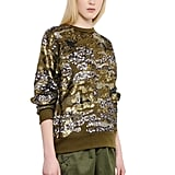 Isabel Marant Sequined Techno Blend Jersey Top ($1,800)