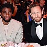 Chadwick Boseman and Tom Hiddleston