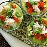 Raw Avocado and Corn Soup