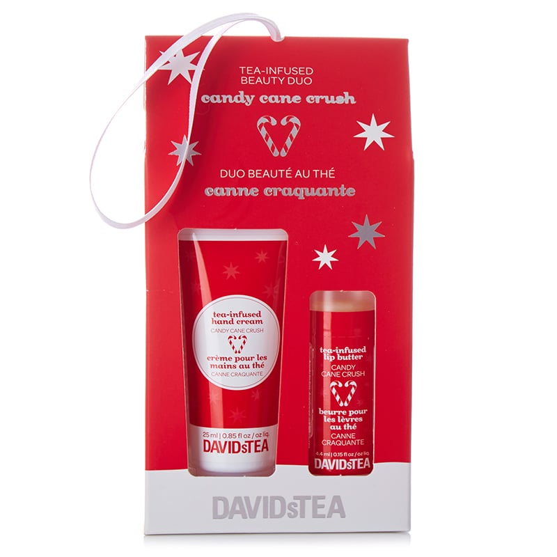 David's Tea Candy Cane Crush Tea-Infused Beauty Duo