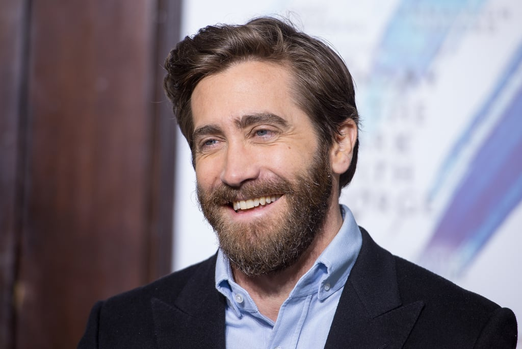 """Jake Gyllenhaal is heading back to Broadway, and we couldn't be more excited. After giving us a sneak peek at his singing voice, the Sunday in the Park With George star attended the ribbon cutting ceremony for the reopening of the Hudson Theatre, where the musical will be held, in NYC on Wednesday. Aside from making us melt with his gorgeous smile, he also showed off his sweet chemistry with his co-star Annaleigh Ashford as the two shared a few laughs during the cast's photo call.      Related:                                                                Jake Gyllenhaal Sings """"A Whole New World"""" at the Tony Awards, Proves He Can Do No Wrong                                                                   Happy Birthday, Jake! See His Sweetest & Sexiest Moments"""