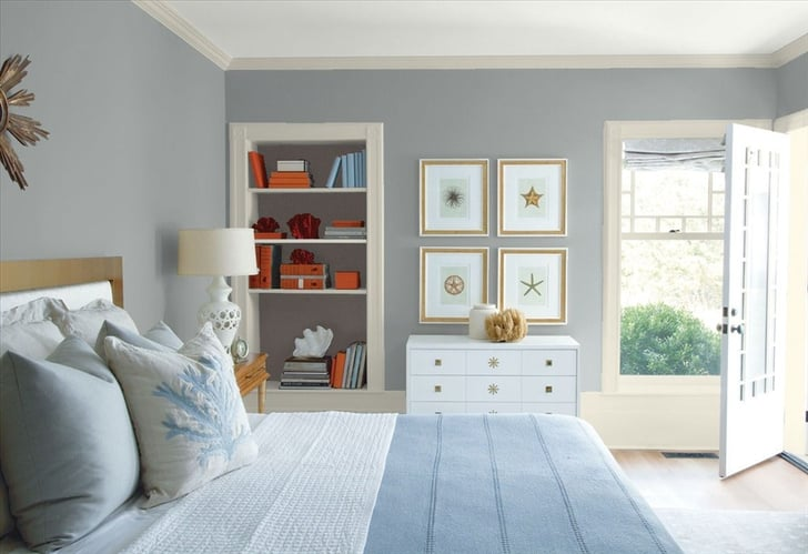 Benjamin Moore Timber Wolf Best Gray Paints Popsugar