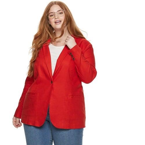 Plus Size POPSUGAR Blazer