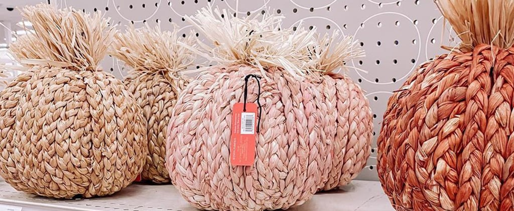 Shop Opalhouse's Pink Woven Pumpkins From Target