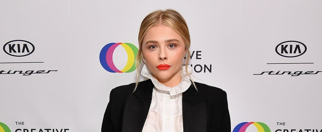 Chloe Grace Moretz Wearing Same Look as Victoria Beckham