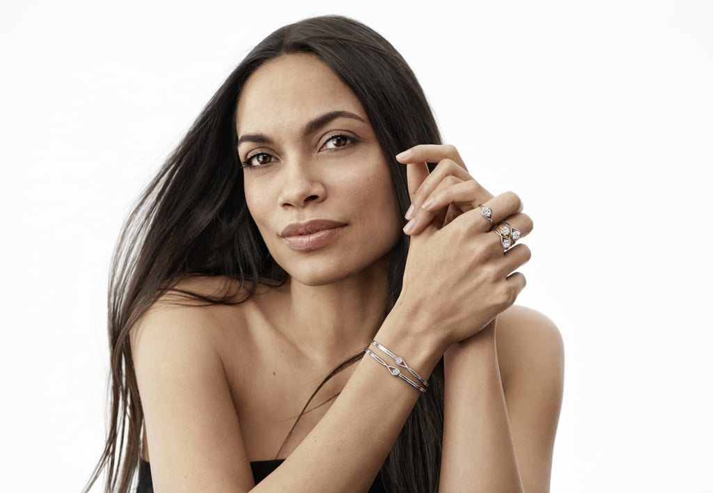 Pandora Brilliance Collection With Rosario Dawson