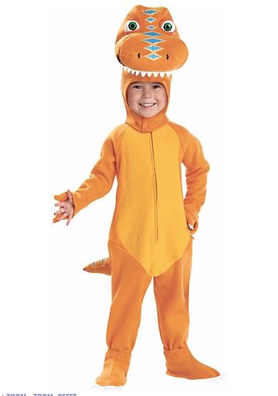 Orange Dino Costume