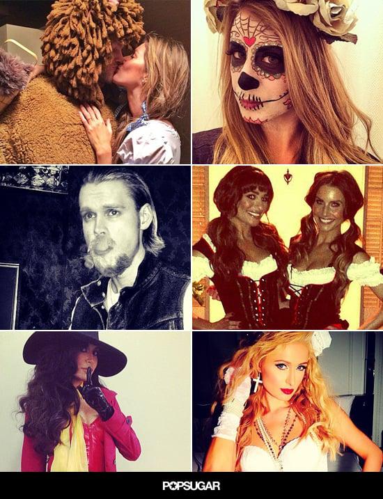 Celebrity Instagram Pictures For Halloween 2013
