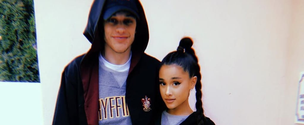 Ariana Grande and Pete Davidson Harry Potter Photo May 2018