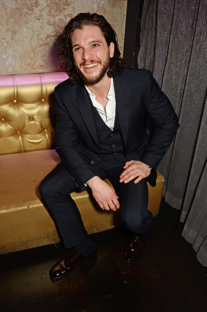 Kit Harington Shaves His Beard