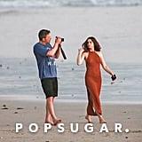 Ben Affleck and Ana de Armas on the Beach in Costa Rica
