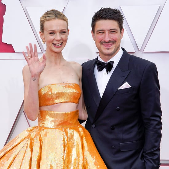 Carey Mulligan and Marcus Mumford at the Oscars 2021