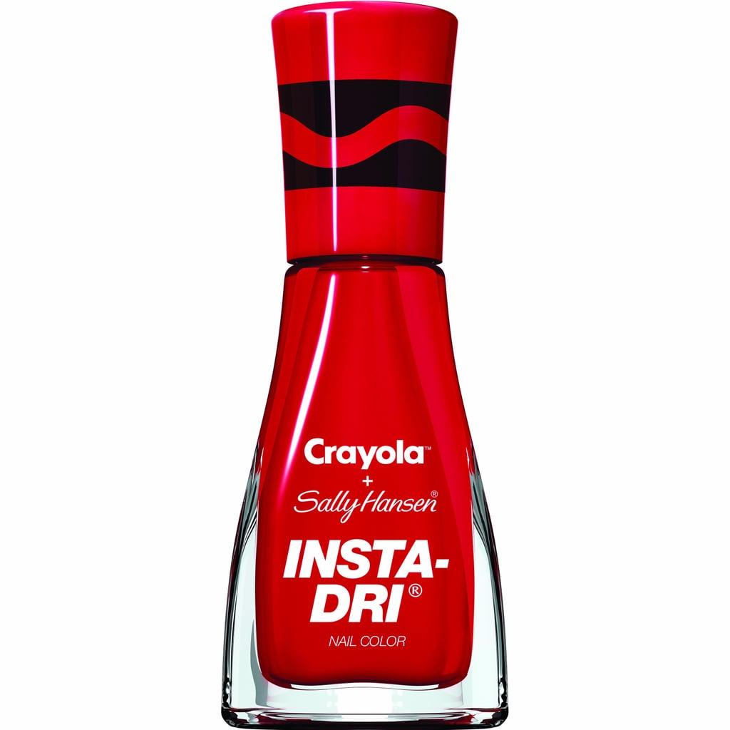 Sally Hansen x Crayola Insta-Dri Nail Polish Collection | POPSUGAR ...