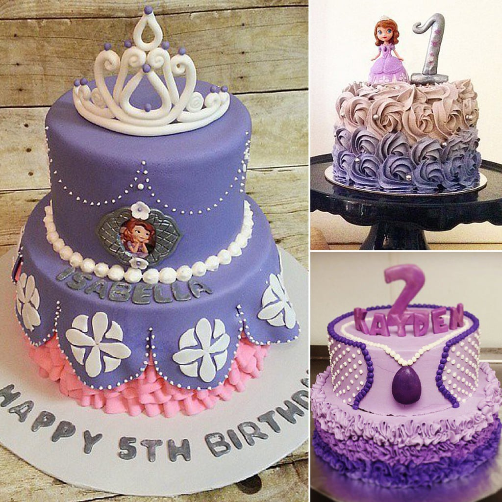 Sofia The First Cake Design Goldilocks : Sofia the First Cakes POPSUGAR Moms