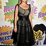 Kate Moss at the Hoping Foundation's Rock On benefit in London.