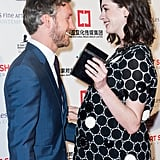 Anne Hathaway Pregnant on the Red Carpet January 2016