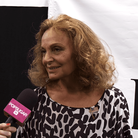 Backstage With Diane von Furstenberg!