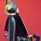 Petra Nemcova's SAFiYAA Gown Was Electric From All Angles