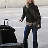 Claire Danes at LAX