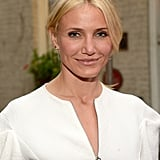 "Cameron Diaz has always been up front about her long battle against acne. ""She's conscious of it and goes to great measures to handle and correct it,"" her aesthetician, Christopher Watt, told New Beauty. ""Uneven skin tone, sun damage and hyperpigmentation are issues that also plague her complexion,"" he said. ""I regularly do microdermabrasion on her, with a lactic acid peel. And she likes oxygen facials, too. I also put her under a blue LED light to lessen breakouts and do microcurrent work to tighten and tone."""