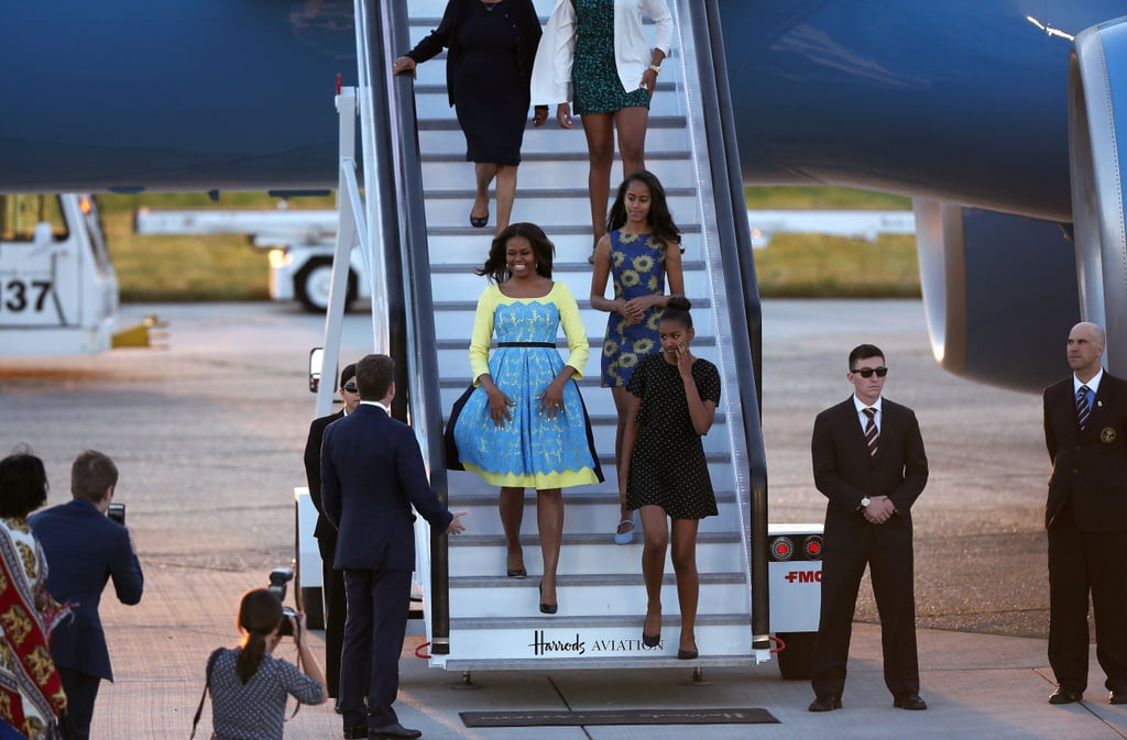 Michelle, Sasha, and Malia Obama Coordinated Their Dresses — and We Want Them All