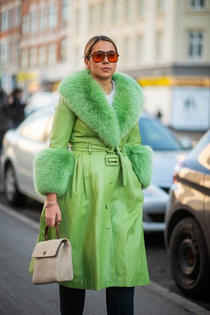 Have a '70s Moment in This Green Coat