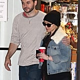 On Sunday, Christina Aguilera and Matthew Rutler stuck together for Christmas shopping in LA.