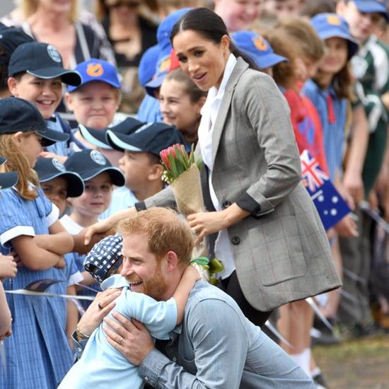 هاري وميغان يتفاعلان مع الأطفال خلال جولتهما في أستراليا 18