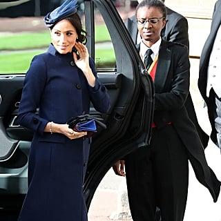 ثوب ميغان ماركل في زفاف الأميرة يوجيني