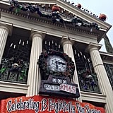 The Haunted Mansion gets a Nightmare Before Christmas makeover every Fall.