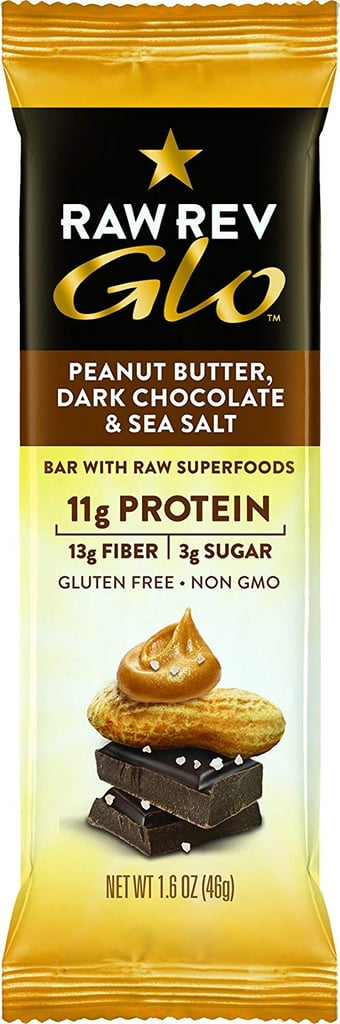 Raw Rev Glo Vegan Gluten-Free Protein Bars - Peanut Butter Dark Chocolate & Sea Salt